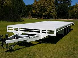20x8 ft Flatbed Trailer  4.5 tonne Rated - picture0' - Click to enlarge