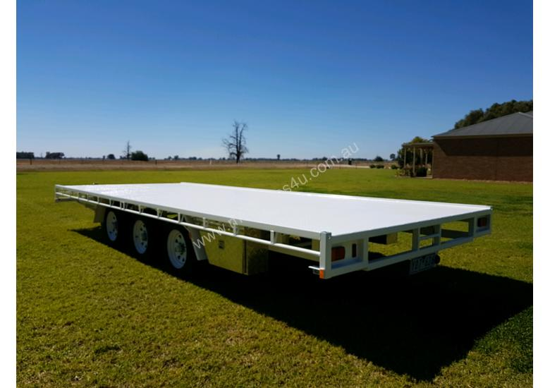 20x8 ft Flatbed Trailer  4.5 tonne Rated