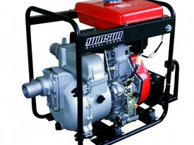 DIESEL SLUDGE TRASH PUMP 3 inch Elec. Start 13HP - picture0' - Click to enlarge