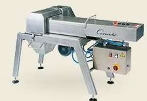 Cheese Grater Machine with Pneumatic Push