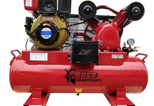 BOSS 25CFM/ 6HP Diesel Air Compressor 112L Tank
