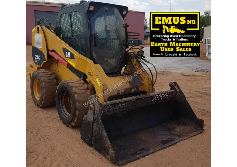 2013 CAT 256C Skid Steer 600mm Profiler attachments MS552A