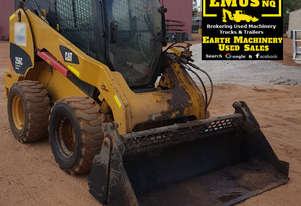 2013 CAT 256C Skid Steer, 600mm Profiler & attachments.  MS552A