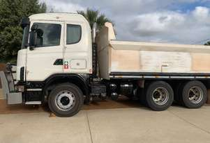 Scania Six wheel tipper