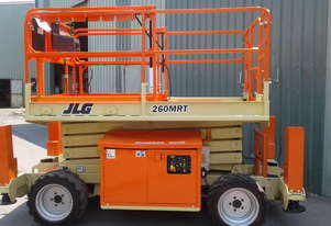 JLG 260MRT 4WD Rough Terrain Scissor Lift