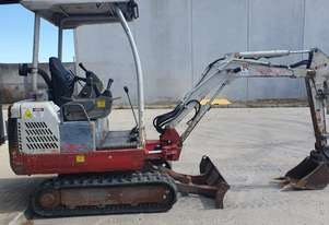 USED TAKEUCHI TB016 TRACKED EXCAVATOR 1.6T + BUCKETS
