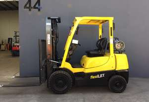 HYSTER H2.5TX Container Mast Counterbalance Forklift - Fully Refurbished