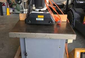 Used Edge Sander with Powerfeed