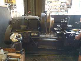 FLAT BED LATHE SWING OVER BED APPROX 560 MM  105 MM SPINDLE BORE  3 METER  BED   - picture1' - Click to enlarge