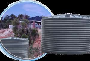 NEW WEST COAST POLY 27500LITRE RAIN WATER HARVESTING TANK, FREE DELIVERY/ WA ONLY