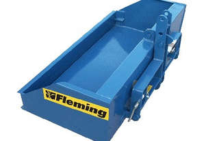 Other  Fleming Compact 4' Foot Tipping Box Box Scraper/Blade Tillage Equip