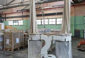 Twin  Bag  Mobile  Dust  Collector