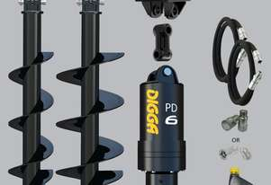 Digga PD6 auger drive combo package excavator up to 6.5T