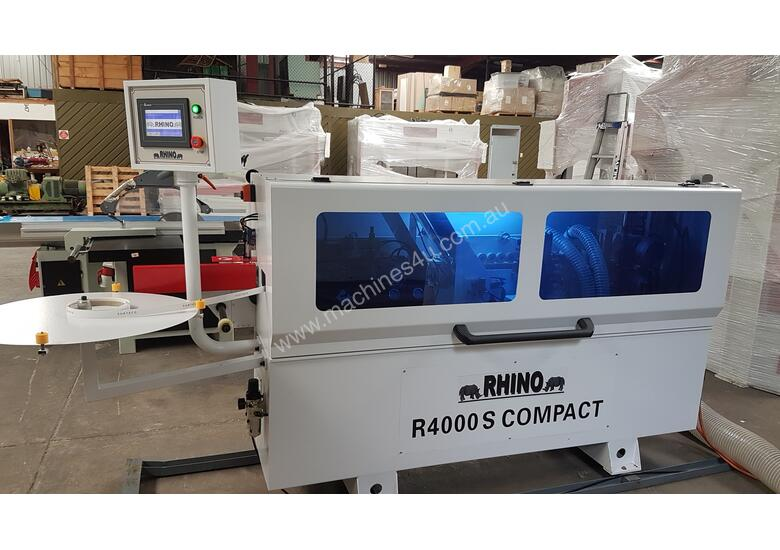USED RHINO R4000S COMPACT HOT MELT EDGEBANDER *AVAIL NOW*