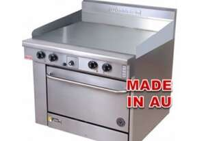 Goldstein PF24G20 - 600mm Gas Griddle With Oven