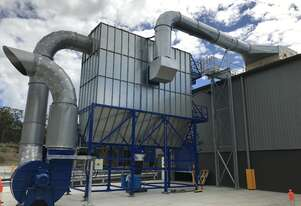 Blue Vent Dust Extraction System