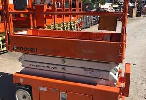 Snorkel 19ft electric scissor lift