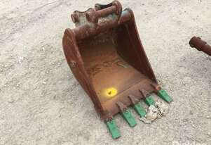 2012 SBA, V1045/55, 600mm Digging Bucket Attachment To Suit 5.0Tonne Excavator, Fitted With Pin 45mm