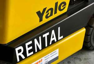 HIRE - Yale 2.5 tonne Counterbalanced Diesel Forklift