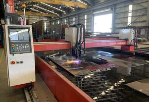Workhorse Cuts Everything 3mm to 120mm HPR260 Hypertherm Plasma & 3 Torch Oxy-Fuel CNC Profiler