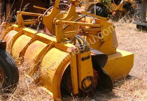 broom for loader attachment 6ton to 20 ton machine