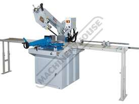 EB-330DSC Swivel Head-Dual Mitre Metal Cutting Band Saw with Conveyor System 295 x 230mm (W x H) Rec - picture0' - Click to enlarge