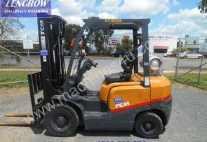 Tcm 2500kg yard forklift for hire