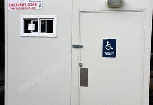 Compliant 2.4m X 2.4m Disabled Toilet