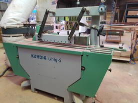 KUNDIG UNIQ S edgesander - picture4' - Click to enlarge