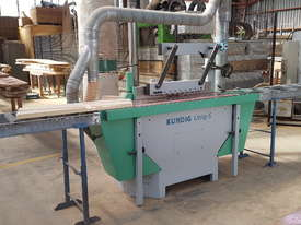 KUNDIG UNIQ S edgesander - picture12' - Click to enlarge