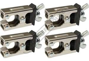 MWC-4 Micro Welding Steel Clamp Set 0 - 7mm Clamping Thickness Set of 4 Clamps