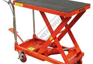 LT-226 Hydraulic Lifter Trolley 226kg Load Capacity 270 ~ 740mm Lift Height