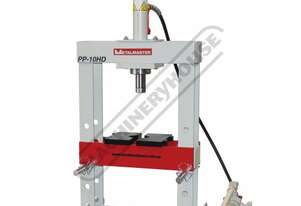 PP-10HD Workshop Hydraulic Bench Type Press - 10 Tonne CNC Welded Steel Frame Construction Includes