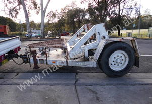 5ton cable drum trailer , self loader