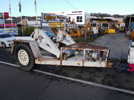 5ton cable drum trailer , self loader - picture1' - Click to enlarge