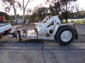 5ton cable drum trailer , self loader - picture0' - Click to enlarge