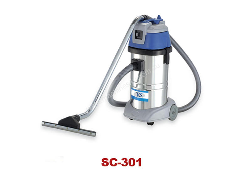 COMMERCIAL STAINLESS STEEL WET 'N' DRY - 30 litre