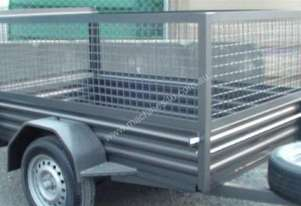mcneilltrailers 7*4 wt extra heavy duty with cage