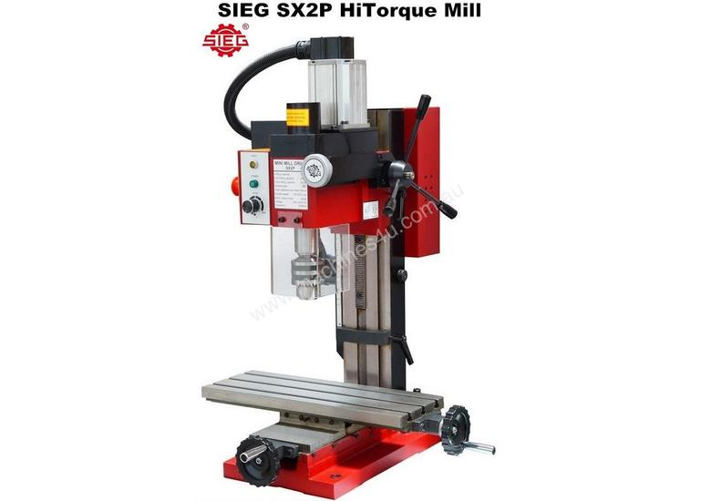 SIEG SX2P HiToque Mill with R8 Spindle