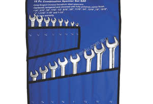A89601 - 16 PC COMBINATION SPANNER SET SAE