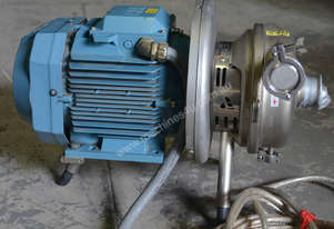 APV Stainless food grade 7.5KW pump Type W+55/35