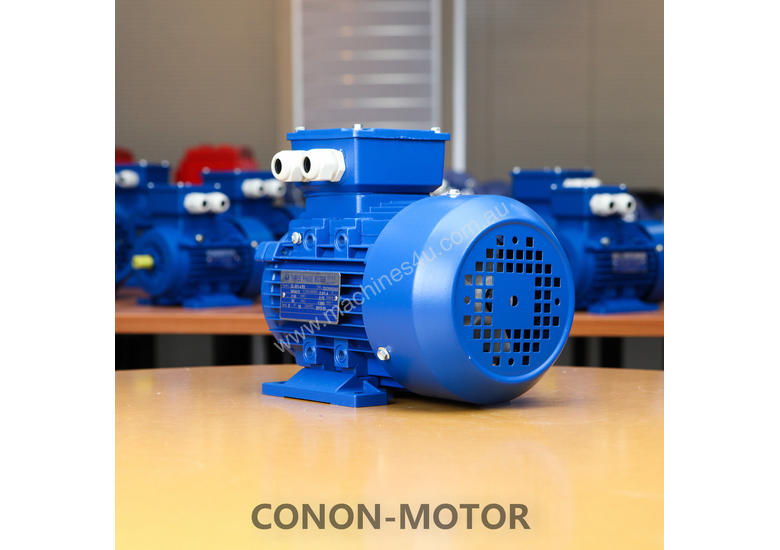 0.55kw/0.75HP 1400rpm 19mm shaft motor 3-phase