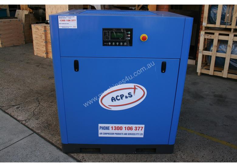 German Rotary Screw - Variable Speed Drive 25hp / 18.5kW Rotary Screw Air Compressor.. Power Savings
