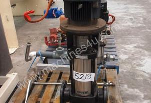 Multistage Pump In/Out: 100mm Dia.