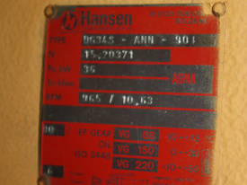 Huge Hansen Transmission Gearbox - picture3' - Click to enlarge