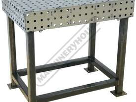 FBL6090-M CertiFlat fabBLOCK 3D Welding Table 600 x 900 x 860mm (LxWxH) Tab & Slot U-Weld - picture0' - Click to enlarge