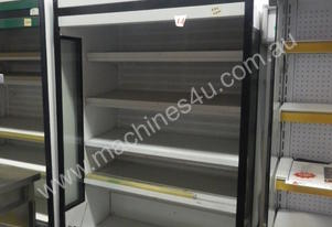 Displaymor 5-tier open display fridge - secondhand