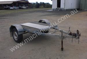Trailer single axle plant type