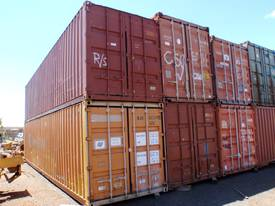40' Std & High Cube Containers *CONDITIONS APPLY*