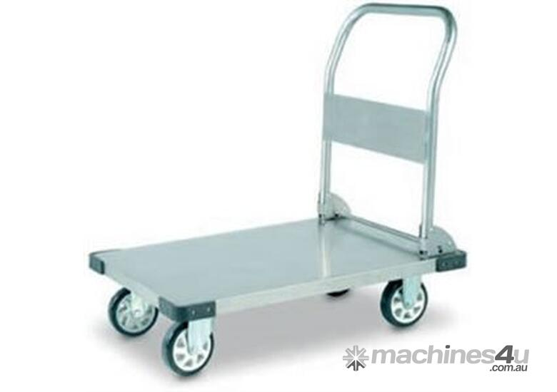 tainless Steel Flatbed Trolley 350Kg Capacity